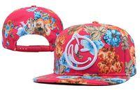 Wholesale Cheap Yums Snapback Hats - Hot Yums Classic Face Floral Snapback Caps & Hats Snapbacks Snap Back Hat Men Women Baseball Cap Cheap Sale