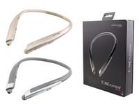 Wholesale Earphones Mic Retail Packaging - HBS 1100 Bluetooth Wireless Headphones HBS1100 With Hard Retail Package CSR 4.1 Neckband Sports Earphones Headsets with Mic