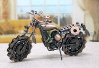 Wholesale craft ideas - 2017 NEW hot sale motorcycle davidson models oversized iron metal crafts creative gift ideas home decoration crafts MYY