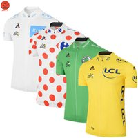 Wholesale Tour France Tops - Multi colors Customized NEW 2017 Tour De France mtb road RACING Team Bike Pro Cycling Jersey   Shirts & Tops Clothing Breathing Air JIASHUO