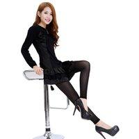 Wholesale Body Shape Leggings Wholesale - Wholesale- Women Winter High Waist Slim Hip Lift Up Body Abdomen Shape Long Pants Leggings
