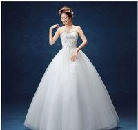 Wholesale Korean Ladies Images - Wholesale supply of 2017 new wedding dresses, large yards, Korean tail, bride, wedding dress, toast, ladies