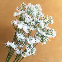 outdoor artificial plants - Artificial Silk Flower Fake Baby Breath Simulation Lifelike Plant Home Wedding Party Outdoor Picnic Decor Hot Sale pn R