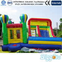 Wholesale Commercial Inflatables - Factory Direct Sale En71 And En14960 Certificated Commercial Use Bounce House Inflatable Bouncy Castle Slide Combo