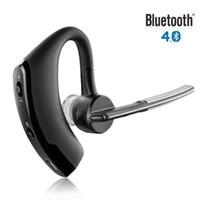 стерео оптовых-Универсальный черный стерео Спорт беспроводная связь Bluetooth 4.0 в-ухо сотовый телефон гарнитура наушники автомобильные аксессуары 3016