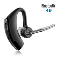 Wholesale Headset Accessories - Universal Black Stereo Sports Wireless Bluetooth 4.0 in-Ear Cell Phone Headset Earphones Car Accessories 3016