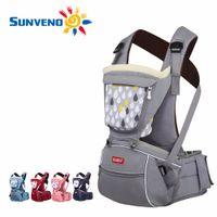 Wholesale Designer Baby Slings - SUNVENO Designer Baby Carrier Infant Toddler Front Facing Carrier Sling Kids Kangaroo Hipseat Baby Care 0-36Months