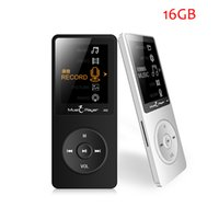 Wholesale Media Player Recorders - Wholesale- New Original IQQ X02 16G MP3 Player Speaker 1.8 Inch Screen Play 80 hours ,Voice recorder,FM,E-Book,Clock,Media MP3 Music Player