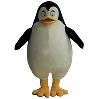 fantasias de pinguins venda por atacado-Hot Madagascar Pinguim Mascot Costume Fancy Dress Adult Size Frete Grátis
