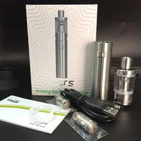 100% Original Cigarette électronique kit Eleaf iJust S Kit 3000 mah Batterie avec 4 ml Atomiseur 0.18 ohm Top Tête shisha stylo