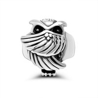 Vintage 3D Owl Ring For Man Woman Unisex Acero inoxidable Moda Bird Owl Animal Ring
