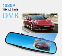 Wholesale Hd Vehicle Dvr Camera - 4.3 inch Full HD 1080P screen Car DVR Recorder G600 Vehicle Cameras Recorder Vehicle Black box DVR Night Version with Wide Angle