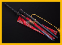 Wholesale Ornaments Decorate - COLLECTION SWORD for decorate Full Tang 100% Handmade Black Blade DAMASCUS Folded Steel Japanese Samurai Katana Ninja Sword Ninjato #216