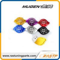 Wholesale Cap Radiator - Free Shipping MUGEN Radiator Cap Cover Fit For HONDA Accord Civic CR-V CR-Z CRX City Crossroad Elysion Jazz Prelude S2000 RS-CAP007
