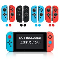 Wholesale Silicone Cap Controller Stick - For NS Handle Controller Silicone Cover for Nintendo Switch Case Protector with Stick Caps Gel Guards Handle Covers
