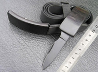 Wholesale Field Knives - hot Waistband Hidden Invisible Knife Nylon Belt Self Defense Boot Field Knife Dagger Outdoor Camping Hunting fox Survival Gear 1pc