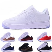 Wholesale China One Lace - Fashion Men Shoes Low One 1 Men Women Force China Casual Shoe Fly Designer Royaums Type Breathe Skate knit Femme Homme 36-45