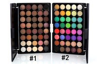 Wholesale Max Dona - 40 Colors Eyeshadow Shimmer Eyeshadow Palette Set Professional Eye Shadow Foundation Makeup Tool VS MAX DONA Eyeshadow