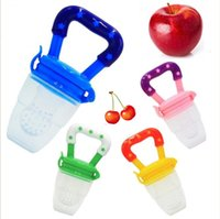 Wholesale Wholesale Fake Fruits Vegetables - Baby pacifier fruit and vegetable silicone pacifier Bujiao Buji Mouscup fake pacifier new factory direct supply