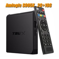 T95X Amlogic S905X TV-Box Android 6.0 4K H.265 2.4G WiFi 2GB RAM 16GB ROM 4K Android TV 1080P Full HD Smart Media Player