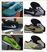 Wholesale Top Quality Fly Racer Running Shoes For Women Men Lightweight Breathable Athletic Outdoor Sneakers Eur