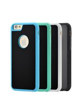 Wholesale Glass Wall Case - 100PCS For iPhone 6s 6 7 plus Anti Gravity Case TPU Rubber Nano-suction Magic Shell Wall Glass Adsorption Protect Cover Reusable
