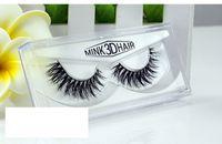 Wholesale Real Hair Styles - Mink hair Eyelashes 8 Styles 1 pair 3D 100% Real Mink Handmade Thick Natural False Eyelashes for Beauty Makeup fake Eye Lashes Extension