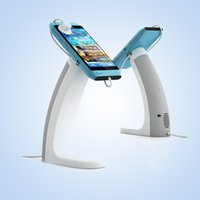 Wholesale Stent System - Shownin mobile phone alarm display stand alarm system charge lock Samsung Huawei cellphone security stent holder
