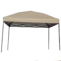 Wholesale Gazebo Lights - Wholesale- Pastoral Life Outdoor advertising tent folding awning Waterproof Light Khaki Sunshelter Gazebo Tent 3x3