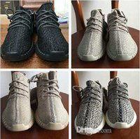 Wholesale Dive Quality - With (Keychain+Socks +Receipt+Boxes )Best quality 350 boost TURTLE DOVE running shoes Sneakers Kanye west 350 pirate black oxford tan Shoes