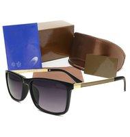 Wholesale Designer Brand Eyewear - 2017 Novel luxury G brands designer vintage Eyewear Italy Sunglasses women men shades Fashion glasses with original case