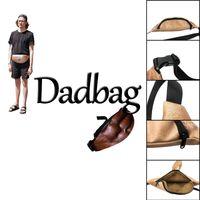 Wholesale Lifelike Men Toys - 3D printed Dadbag Lifelike Muscle Fat Belly Pattern Nolvelty PU Pockets 1L Capacity Gadget for Boy Man