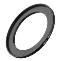 Wholesale cameras photographic online - Black Metal mm mm Step Up Filter Ring mm to Stepping Adapter Cameras Photographic accessories