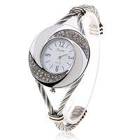 Wholesale Rhinestone Bangle Watch - 2017 Luxury Brand Rhinestone Whirlwind Design Watch Women Weave Dress Wristwatch Woman Girl Ladies Bracelet Bangle Quartz Watch