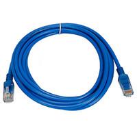 Wholesale 15m Ethernet - 1M 1.5M 2M 3M-15M CAT5E CAT5 RJ45 Ethernet Internet Network Patch Lan Cable Cord Blue M M for Networks WiFi Router 10pcs