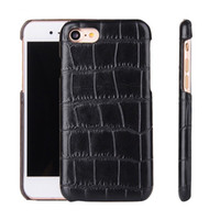Wholesale Fiber Grains - Snake Wood Grain Carbon Fiber Case PU Leather Cover for iPhone 7 6 6s Plus Samsung S7 edge LG K10 Sony Z5 With OPPBAG