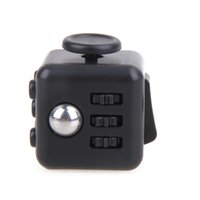 Big Kids Black With Green Plastic 2017 New Antistress Finger Activity Fidget Cube Infinity Gadget Out of Stress Relief Fun Novelty Gag Toy Christmas Toys Gifts For Children