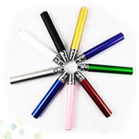 e zigarette wiederaufladbare batterien großhandel-Großhandel EGO 650 900 1100mah Ego-T Batterie EGo E-Zigarette Bunte Batterie wiederaufladbare EGO T Batterie für E-Zigarette