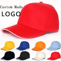 Unisex outdoor advertising companies - Cheap Blank baseball cap outdoor sports caps printing advertising hats adult sun hat can custom made print company design for gift