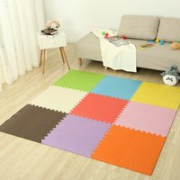 Crianças Crawling Mat Folha Com Sólidos Costura Mats Home Game Floor Ground Foam Anti Skid Pad Multi Colors 0 97ys F