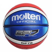 Hot Sale Official Standard Size7 Molten GP76 PU Indoor Outdoor Basketball  Ball Training Equipment Free Shipping 65e1465e13b3d