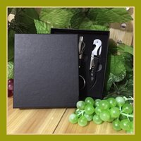 Wholesale bottle opener gift set resale online - Red Wine Bottle Opener Wines Accessory In One Set Many Styles Corkscrew Gifts Box fh C R