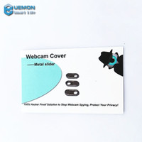 Wholesale Newest metal slider Webcam Covers Web Cam Privacy Cover Security for laptops smartphones