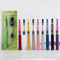 Wholesale Ce5 Vs Ego T - Ego-t Starter Kit CE5 Atomizers Ego-T battery E-cigarettes kit EGO-T blister kit Blister 650mah 900mah 1100mah VS CE4 CE3 EVOD