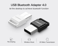 Wholesale Ugreen Wireless USB Bluetooth Adapter V4 Bluetooth Dongle Music Sound Receiver Adapter Bluetooth Transmitter for Computer PC