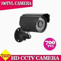 Wholesale Night Vision System Ship - Free shipping 700TVL Camera Home Security Surveillance CCTV System Outdoor Waterproof IR-Cut Night Vision 24 Led Cam
