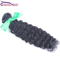 30% de rabais sur les extensions de cheveux bouclés Indian Kinky Curly Human Hair Weave Vente en gros Jerry naturel Curl Remi Hair Weft 1 Bundle 10-28 inch