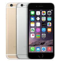 Wholesale 4g iphone screen - Refurbished Original Apple iPhone 6 Unlocked 4.7 inch Retina Screen 16GB 64GB ROM IOS 9 Dual Core 8.0MP Camera 1080P LTE 4G Free DHL 5pcs