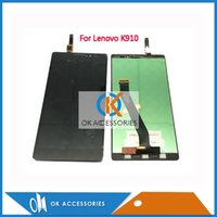 Wholesale Lenovo Vibe Z Wholesale - Wholesale High Quality For Lenovo Vibe Z K910   X2 X2-t0  P1M LCD Display + Touch Screen Assembly
