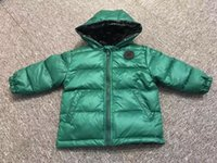 Wholesale Girls Feather Jacket - free shipping 2017new coming 90% duck feather Ultra light Boys Girls children's Autumn Winter jackets Baby down coat Jackets outerwear